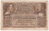 GERMANIA REGIONAL OCCUPATION OF LITHUANIA LITUANIA 100 MARK MARCI 1918 U