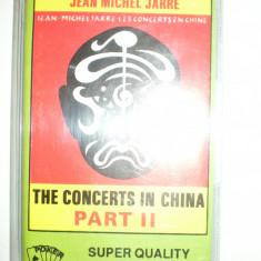 Caseta Audio Muzica Electronica Jean Michel Jarre