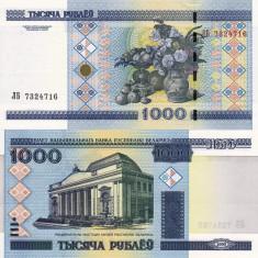 BELARUS 1.000 ruble 2000 UNC!!! - bancnota europa