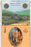 SV * SET MONETAR Thailanda 1 - 2 - 5 - 10 - 20 BAHT 1996   COMEMORATIV     PROOF