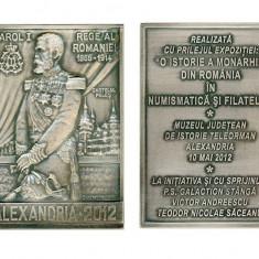 PLACHETA CAROL I - Medalii Romania