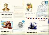 Patru intreguri postale COSMOS URSS