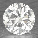 >>> DIAMANT NATURAL ALB - certificat de autenticitate - 0,27ct. - 4 mm  diametru - superb ! ! !