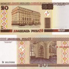 BELARUS 20 ruble 2000 UNC!!! - bancnota europa