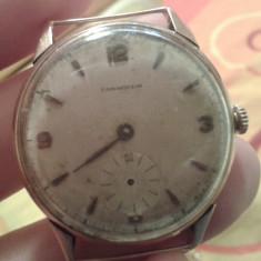 Ceas Longines aur model anii 50, Longines vintage - Ceas de mana