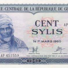 GUINEEA 100 sylis 1980 XF+!!!