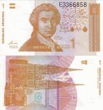 CROATIA 1 dinara 1991 UNC!!!