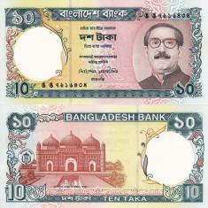 BANGLADESH 10 taka 1997 UNC!!! - bancnota asia
