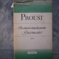 IN CAUTAREA TIMPULUI PIERDUT - GUERMANTES de MARCEL PROUST C16 818, Alta editura, 1989