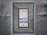 DIMITRIE CANTEMIR  VIATA SI OPERA  I D LAUDAT  C10