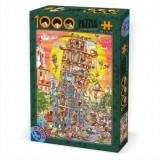 Puzzle Turnul din Pisa 1000 piese