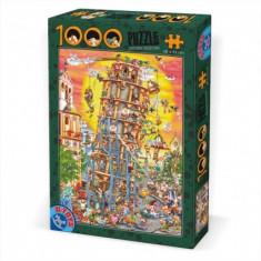 Puzzle Altele Turnul din Pisa 1000 piese