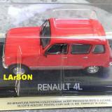 Macheta metal DeAgostini - Renault 4L - Masini de Legenda 67 - NOUA, SIGILATA - Macheta auto, 1:43