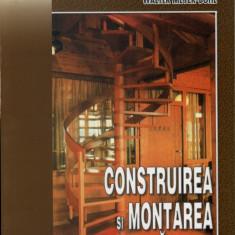 Construirea si montarea scarilor | Poti face si singur | Walter Meyer-Bohe | Editura Mast - Carti Constructii