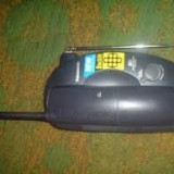 Telefon cordless Panasonic kx-tc2000bxb + set acumulatori noi de rezerva