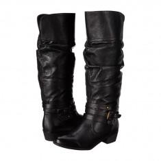 Boots femei 460 Steve Madden Casstro | 100% originali | Livrare cca 10 zile lucratoare | Aducem pe comanda orice produs din SUA - Cizma dama Steve Madden, Negru