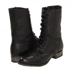 Boots femei 328 Steve Madden Troopa | 100% originali | Livrare cca 10 zile lucratoare | Aducem pe comanda orice produs din SUA - Gheata dama Steve Madden, Negru
