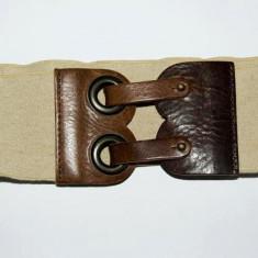 Curea elastica, de dame, marca Miss Selfridge Fabricata in Olanda sistem de inchidere din piele si metal Lungime: 29 cm Latime: 8 cm Marimea: S - Curea Dama, S