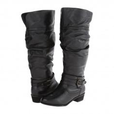 Boots femei 156 Steve Madden Casstrow - Wide Calf | 100% originali | Livrare cca 10 zile lucratoare | Aducem pe comanda orice produs din SUA - Cizma dama Steve Madden, Negru