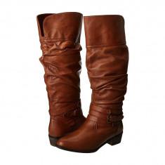 Boots femei 124 Steve Madden Casstro | 100% originali | Livrare cca 10 zile lucratoare | Aducem pe comanda orice produs din SUA - Cizma dama Steve Madden, Maro