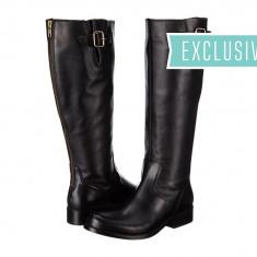 Boots femei 214 Steve Madden Exclusive - Trysst | 100% originali | Livrare cca 10 zile lucratoare | Aducem pe comanda orice produs din SUA - Cizma dama Steve Madden, Negru