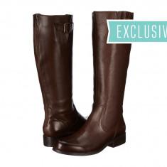Boots femei 568 Steve Madden Exclusive - Trysst | 100% originali | Livrare cca 10 zile lucratoare | Aducem pe comanda orice produs din SUA - Cizma dama Steve Madden, Maro