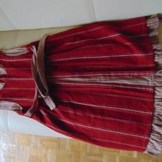 Rochie pentru viitoare mamici, culoare rosie - Rochie gravide