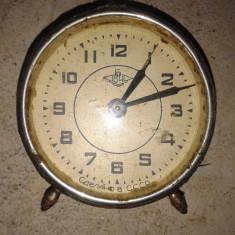 Ceas vechi rusesc desteptator