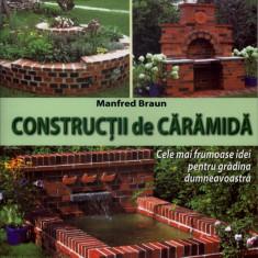 Constructii de caramida - Poti face si singur - Editura Mast