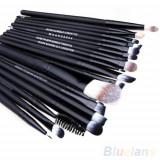 Set 20 Pensule Make Up Profesioniste Pentru Fond De Ten Buze Pleoape Eyeliner