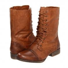 Boots femei 409 Steve Madden Troopa | 100% originali | Livrare cca 10 zile lucratoare | Aducem pe comanda orice produs din SUA - Gheata dama Steve Madden, Maro