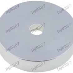 Magnet fix, neodim, 32x7mm, fixare cu surub, Elesa+Ganter - 050572