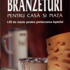 Branzeturi pentru casa si piata | 120 retete prelucrarea laptelui | Lotte Hanreich, Edith Zeltner | Editura Mast
