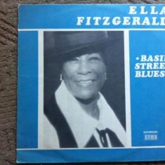 Ella Fitzgerald Basin Street Blues disc vinyl muzica soul blues jazz lp