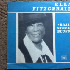Ella Fitzgerald Basin Street Blues disc vinyl muzica soul blues jazz lp - Muzica Jazz electrecord, VINIL