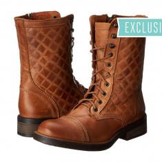 Boots femei 261 Steve Madden Exclusive - Saffrin | 100% originali | Livrare cca 10 zile lucratoare | Aducem pe comanda orice produs din SUA - Cizma dama Steve Madden, Maro