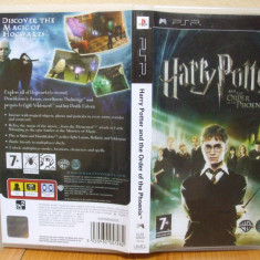 Harry Potter and the Order of the Phoenix (PSP) (ALVio) + sute de alte Jocuri PSP Electronic Arts ( vand schimb ), Actiune, 12+, Single player