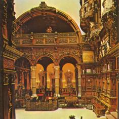Carte postala PH063 Sinaia - Muzeul Peles - Holul de onoare - necirculata