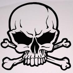 Skull_Stickere Diverse_Perete_Auto_DIV-074-Dimensiune: 20 cm. X 20 cm. - Orice culoare, Orice dimensiune