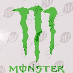 Monster_Stickere Diverse_Perete_Auto_DIV-119-Dimensiune: 15 cm. X 12 cm. - Orice culoare, Orice dimensiune