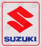 Suzuki Logo_Sticker Auto_Moto_MDEC-029-Dimensiune: 20 cm. X 18 cm. - Orice culoare, Orice dimensiune