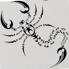 Scorpion_Stickere Diverse_Perete_Auto_DIV-091-Dimensiune: 35 cm. X 35 cm. - Orice culoare, Orice dimensiune