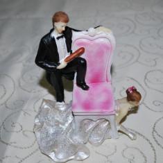 Marturii nunta - Figurina tort nunta Modele Haioase CEL MAI MIC PRET DE PE PIATA GARANTAT, marturie figurine model haios