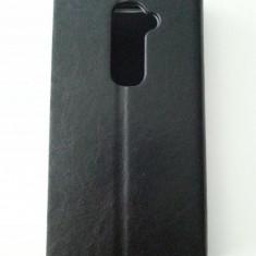 Toc husa flip deschidere laterala LG G2 + folie protectie ecran + expediere gratuita Posta