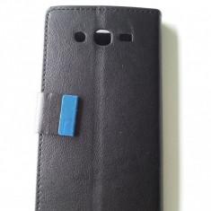 Husa neagra toc flip Samsung Galaxy Grand i9080 + 2 x folie  ecran + expediere gratuita Posta - sell by Phonica