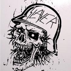 Skull_Stickere Diverse_Perete_Auto_DIV-075-Dimensiune: 35 cm. X 28 cm. - Orice culoare, Orice dimensiune