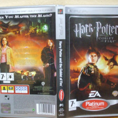 Harry Potter and the Goblet of Fire Platinum (PSP) (ALVio) + sute de alte jocuri psp ( vand schimb )