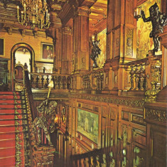 Carte postala PH058 Sinaia - Muzeul Peles - Scara de onoare - necirculata