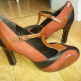 Pantofi din piele firma Tamaris marimea 39,sunt noi,cu eticheta!