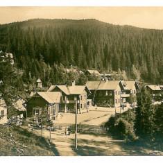 2188 - Sibiu, Paltinis HOHE RINNE - old postcard, real PHOTO - unused - 1937 - Carte Postala Transilvania dupa 1918, Necirculata, Fotografie